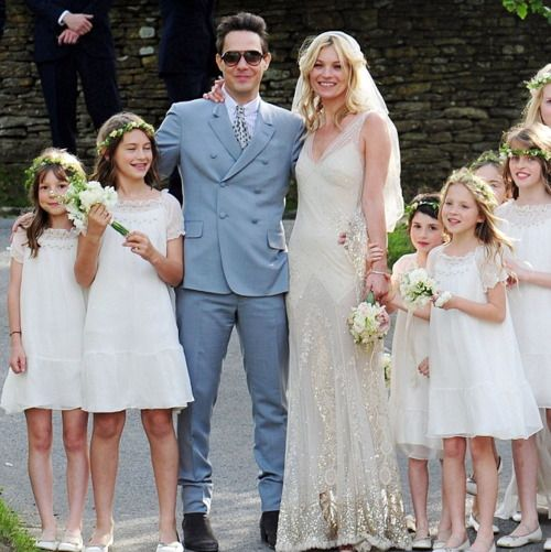Kate Moss wedding dress - I love everything about this | Wedding ...