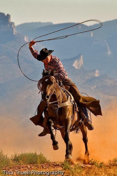 Cowgirl riding cowboy-5740