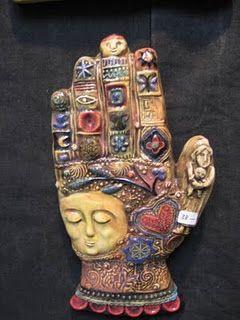 Laurie Eisenhardt Hand Art Mosaic Art Art Dolls