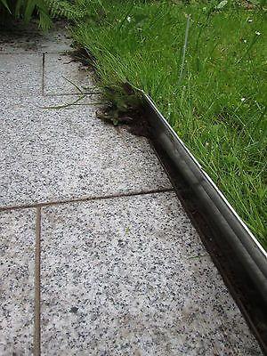 Details Zu Metall Rasenkante Beetumrandung Palisade Raseneinfassung  Verzinkt Billig Garten