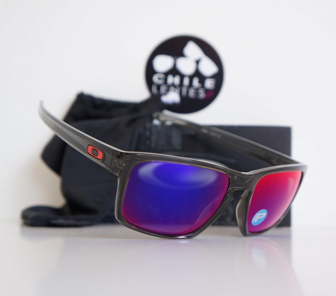 a7d3b0d17a OAKLEY POLARIZED SLIVER GRAY SMOKE Lente POSITIVE RED IRIDIUM  POLARIZED/POLARIZADO http://