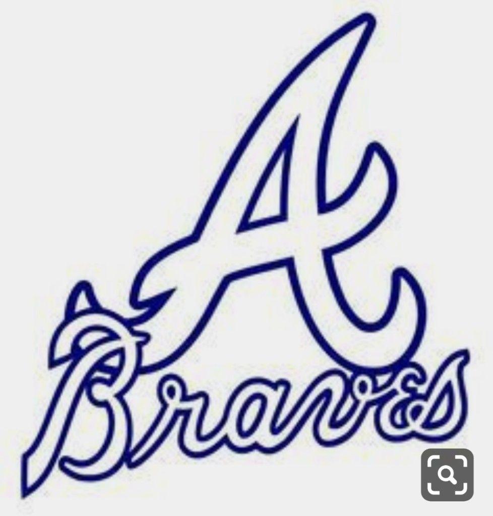 Pin By Lindsay Watson On Cricut In 2020 Atlanta Braves Logo Braves Atlanta Braves