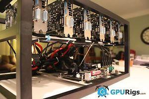 85 Mh Eth Etc Budget Ethereum Mining Rig 6 X R7 370 Gpu S