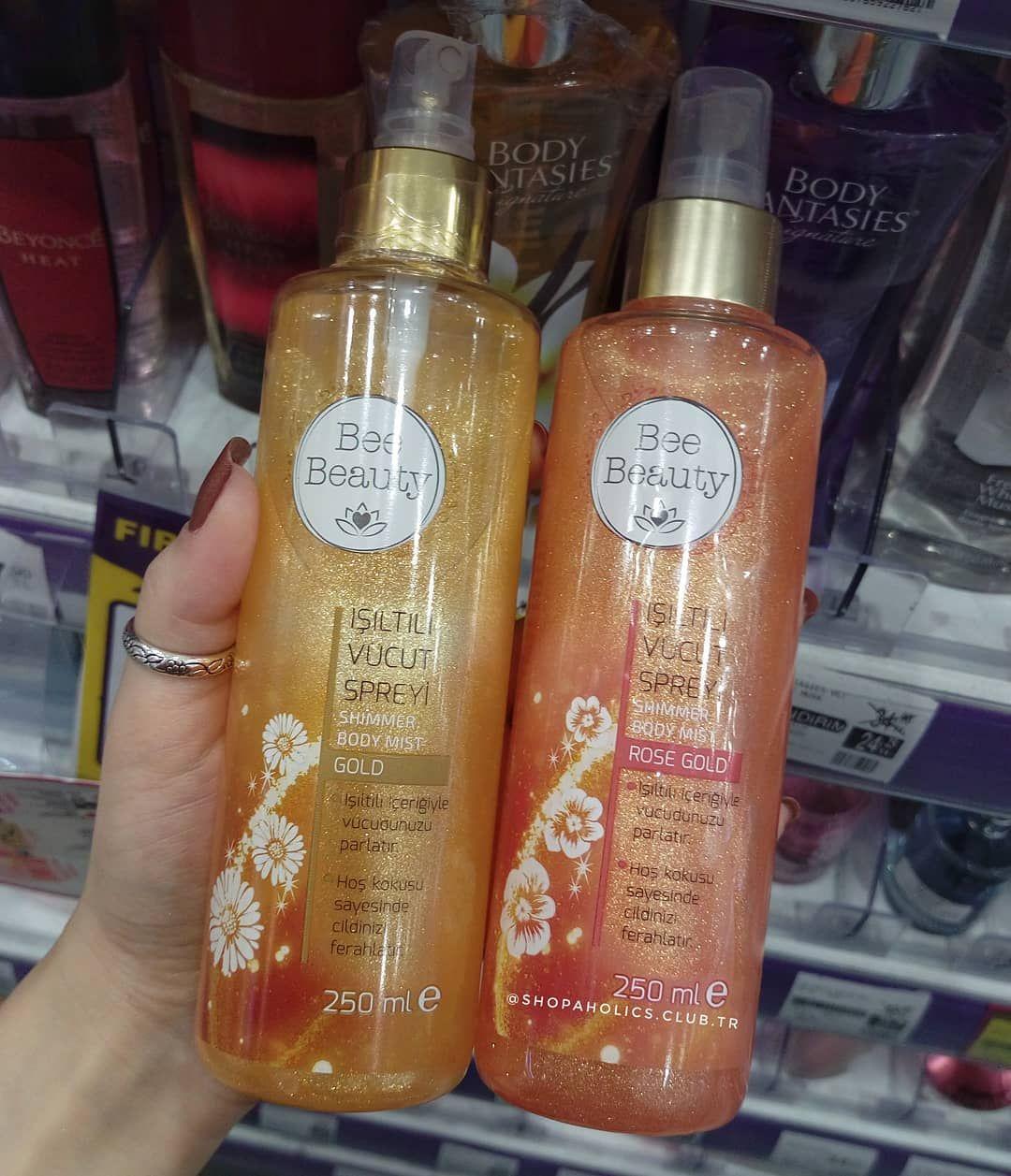 Isiltili Vucut Spreyi Gold Rose Gold Fiyati 12 90tl Gratis Paylasimlarim Gratissc Gratistr Vucut Spreyi Yeni Baslayanlar Makyaj Parfum Koleksiyonu