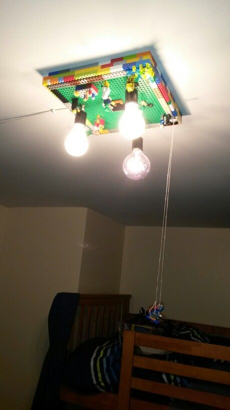 Lego Ceiling Light Fixture