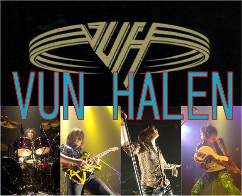 Van Halen Tribute Band in Japan