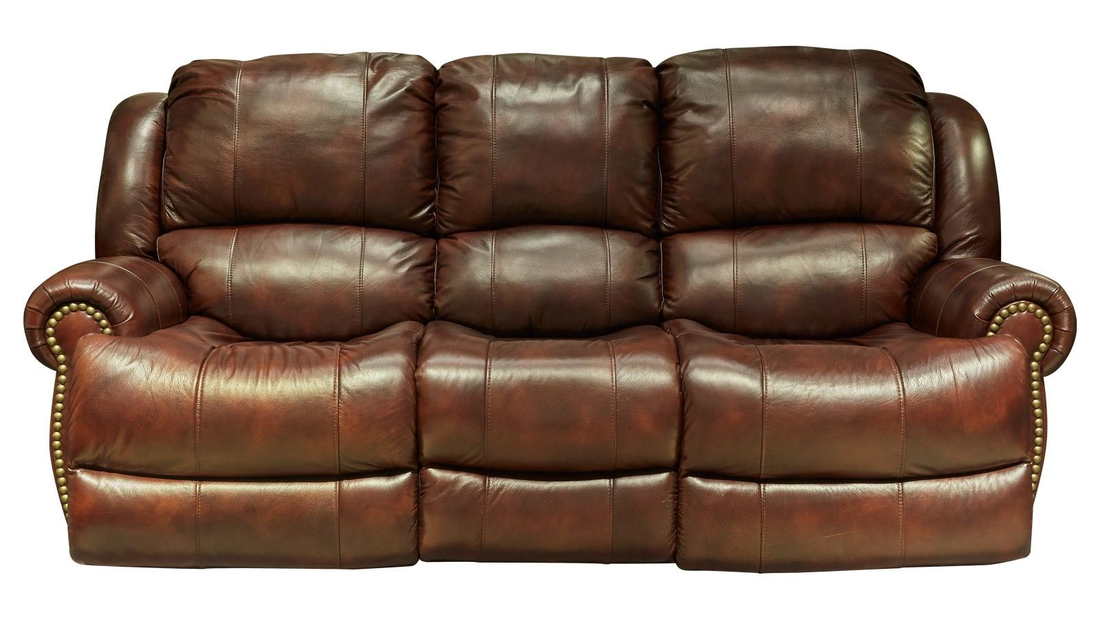 entertainment 2 glider leather reclining sofa | products