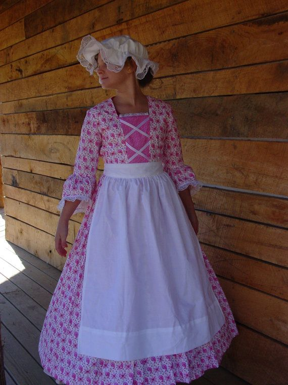 New Historical Pioneer Clothing Modest Costume By
