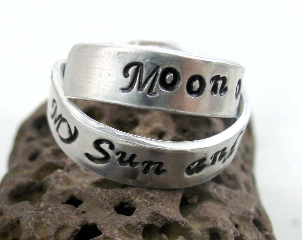 Game Of Thrones Wedding Bands Sun And Stars Game Of Thrones Gifts Stars And Moon