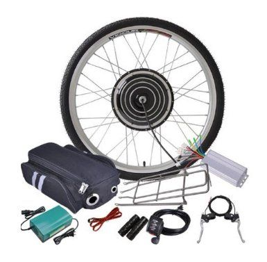 Amazon com: 48v 1000w 26 Inch Front Wheel Electric Bicycle