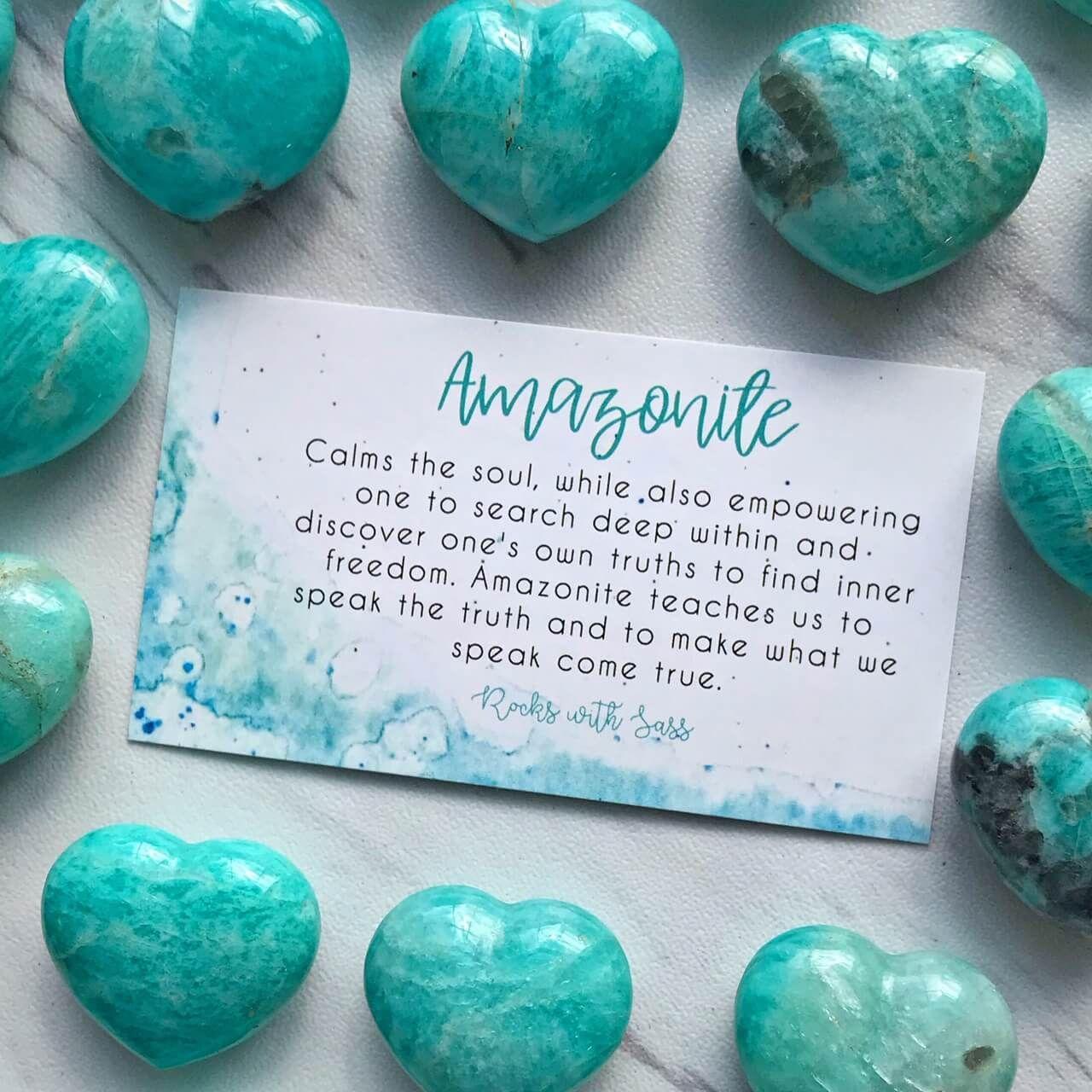 Amazonite Rockswithsass Com Spiritual Crystals Crystal