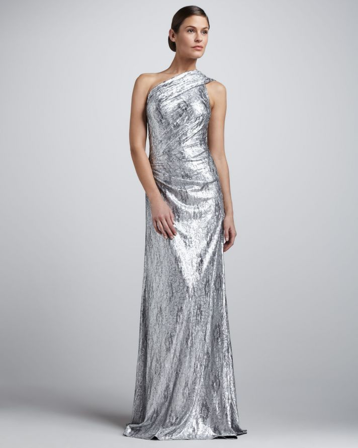 15 Sparkly Dresses for Wedding Guests | Metallic wedding guest ...