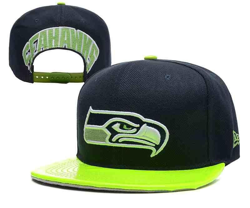 2c888dbd91d NFL Seattle Seahawks Blue Snapback Hats--YD