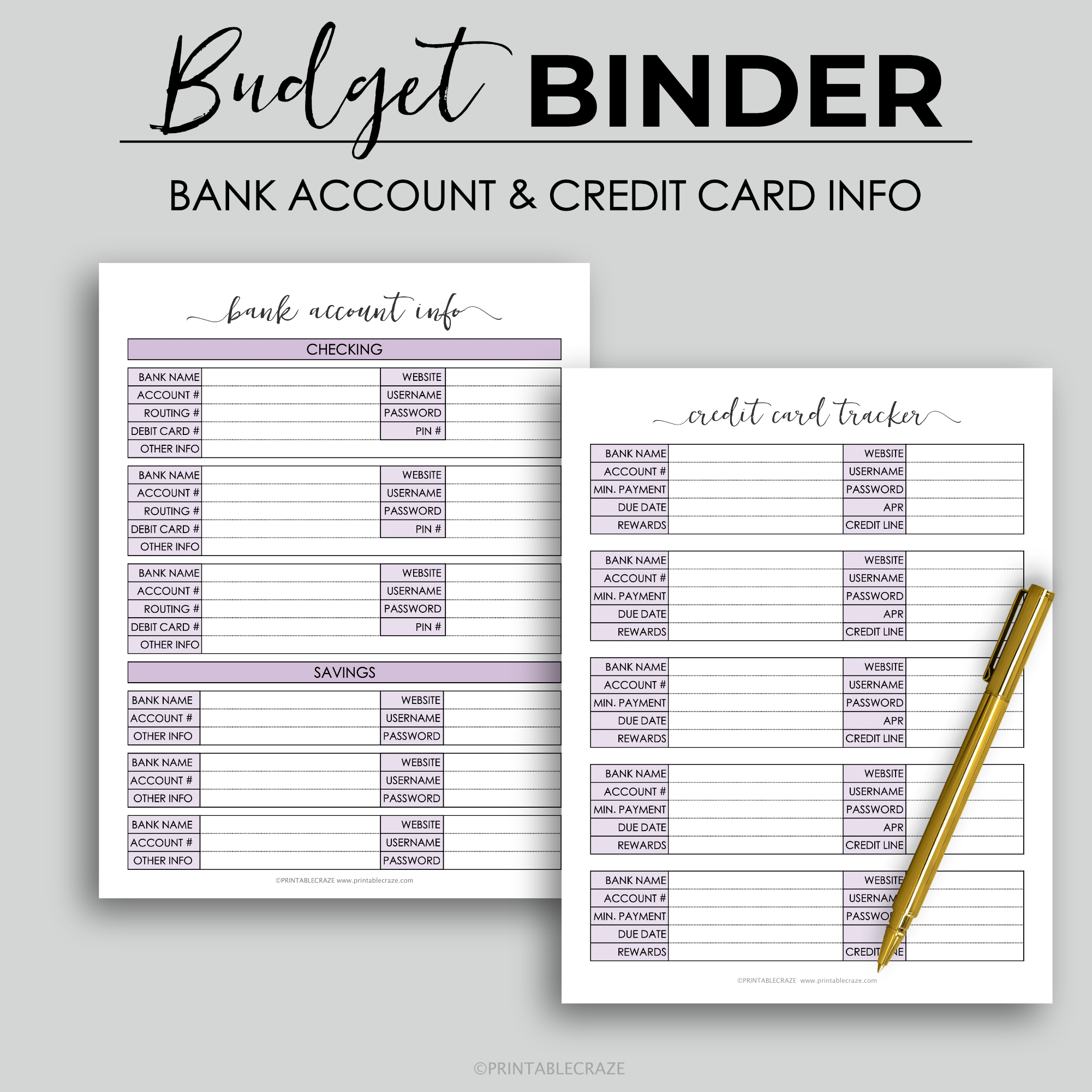 Pin On Planners And Organizers