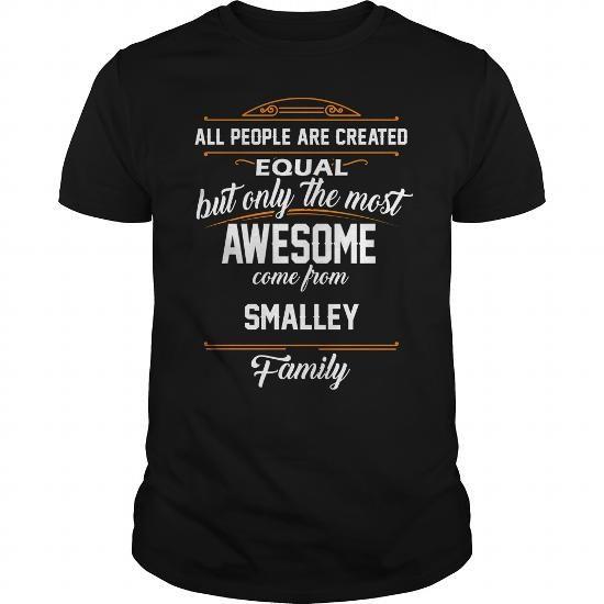 SMALLEY Name tee Shirts