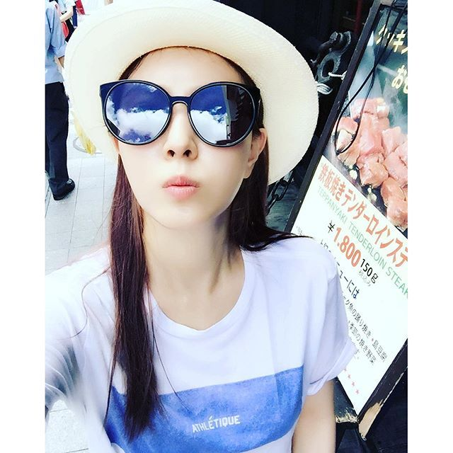 Boa Instagram Kpopsnaps Mirrored Sunglasses Women Boa Kwon Asian Fashion