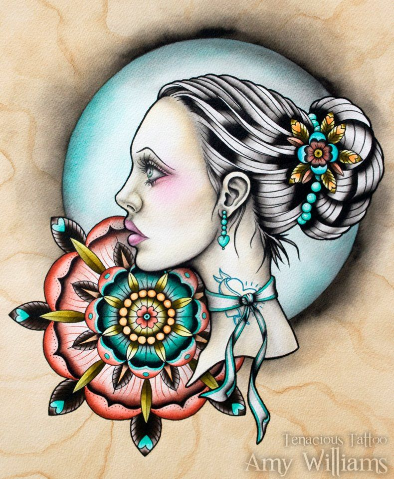 Tattoo Woman Gypsy: Tattoo Tattoo Tattoo - Gypsy Woman - Rose