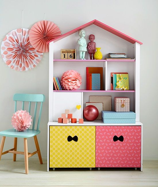 Almacenaje habitaciones infantiles - Estanterias infantiles ...