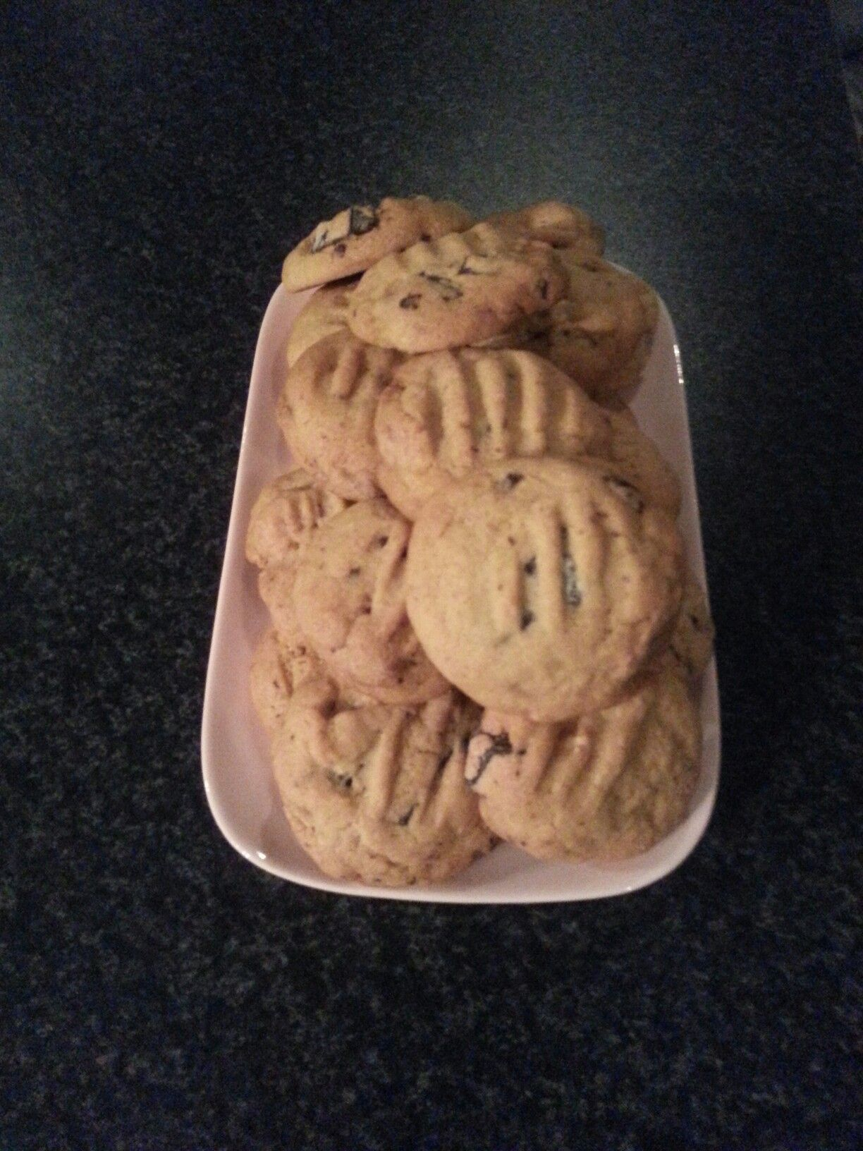 Choc chip cookies :)