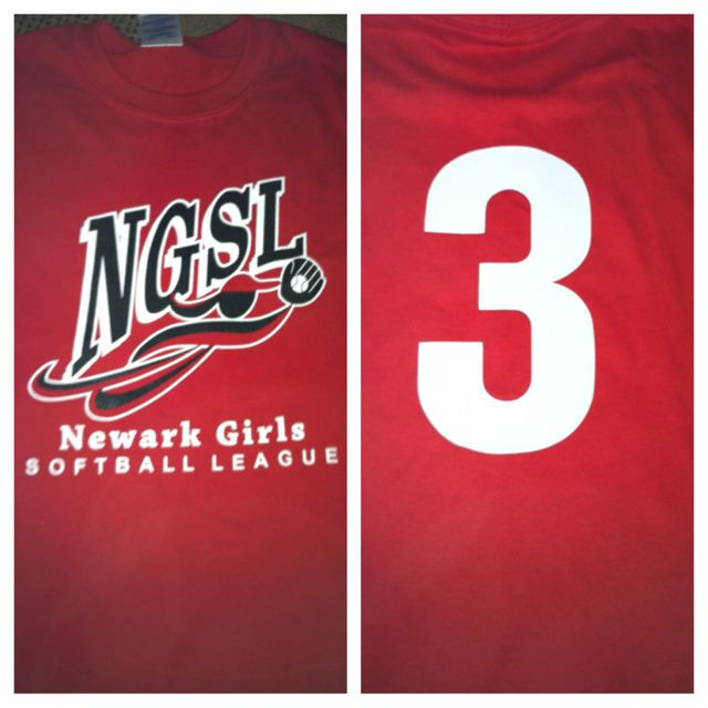 Softball number! :)