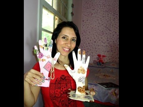 PENDURICALHO PORTA JÓIAS com rolinho de papel higiênico - YouTube