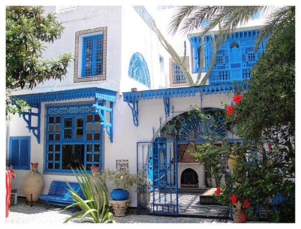 Sidi bou sa d sidi bou sa d est un village de tunisie for Astuces maison tunisie