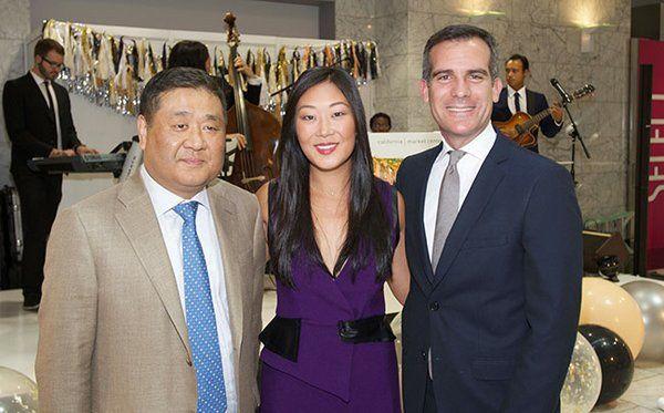 Mayor Garcetti Addresses Industry At Cmc S 50th Anniversary Event 50th Anniversary Trade Show Celebrities