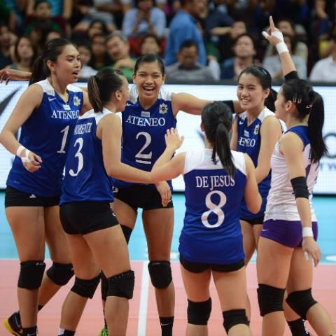 Ateneo S Lady Eagles Believe They Can Fly Female Volleyball Players Women Volleyball Volleyball Players