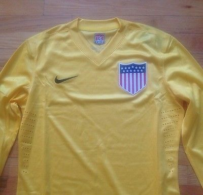 quality design 71b11 a3d04 Details about Nike Black/Onix USA Goalkeeper Jersey Kit ...