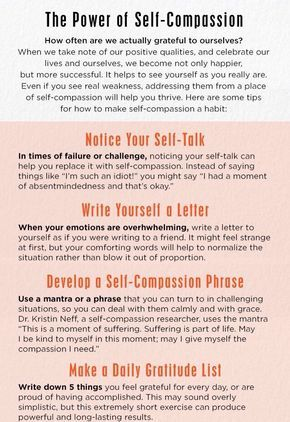 The Power Of Self Compassion Routines Ideas Activities And