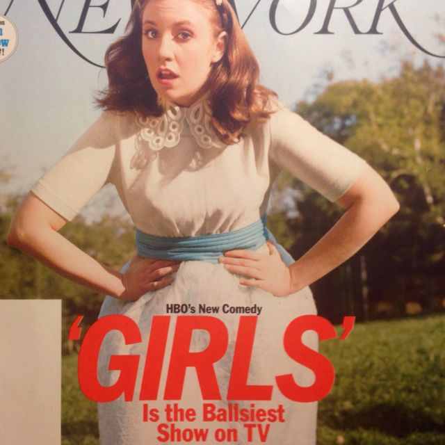 TV - Have YOU seen GIRLS yet? NEW YORK - april