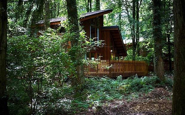 Forest Of Dean Uk A Cabin Deep In The Woods Cabin Forest Of Dean Forest Cabin