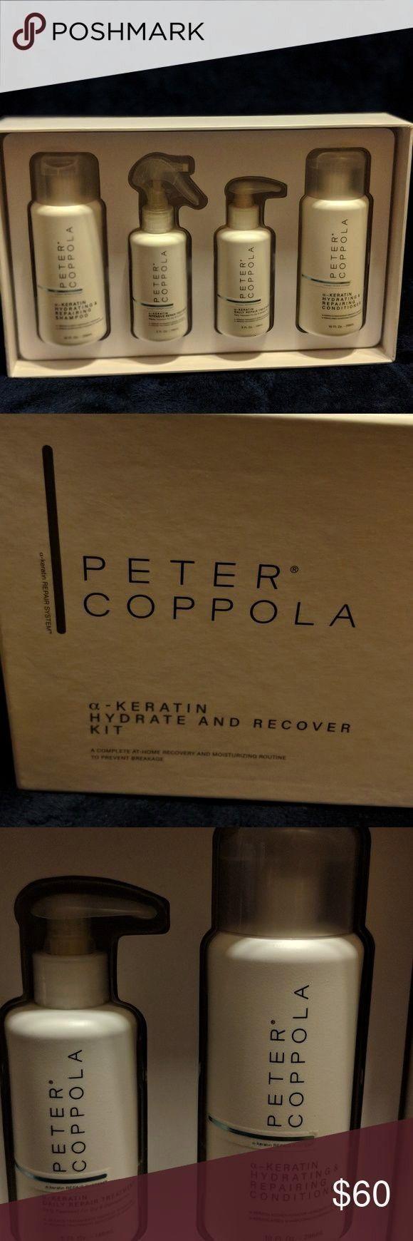 Coppola a-Keratin Hydrat- und Wiederherstellungskit Ein vollständigesPeter Coppola a-Keratin Hydra
