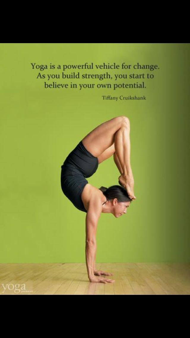 Tiffany Cruikshank On Yoga Journal Yoga Motivation Yoga Poses Yoga Fitness