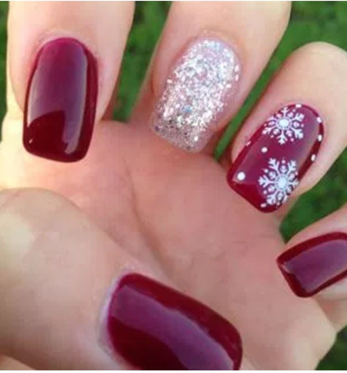 Winter nails - Yassssssssssssssssssssssssss!!!!!!!!!!!! Hair & Makeup
