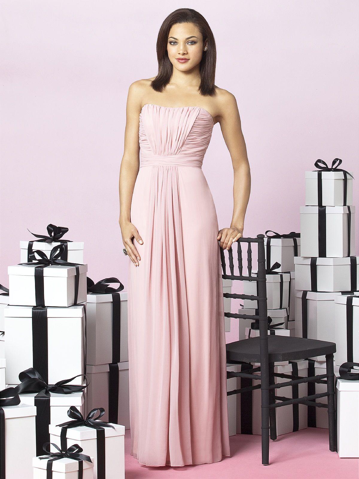 bridesmaid dress option   Wedding   Pinterest   Chiffon bridesmaid ...