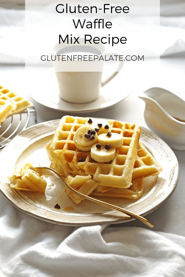 Gluten-Free Waffle Mix Recipe – Make now or store for later! #glutenfreebreakfasts