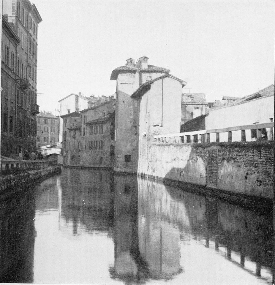 Pin Su Milano La Città D Acqua Che Non C è Più