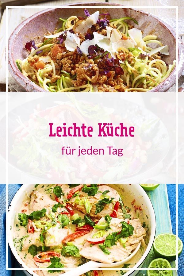 Leichte Küche für jeden Tag | Diät | Gesunde rezepte ...
