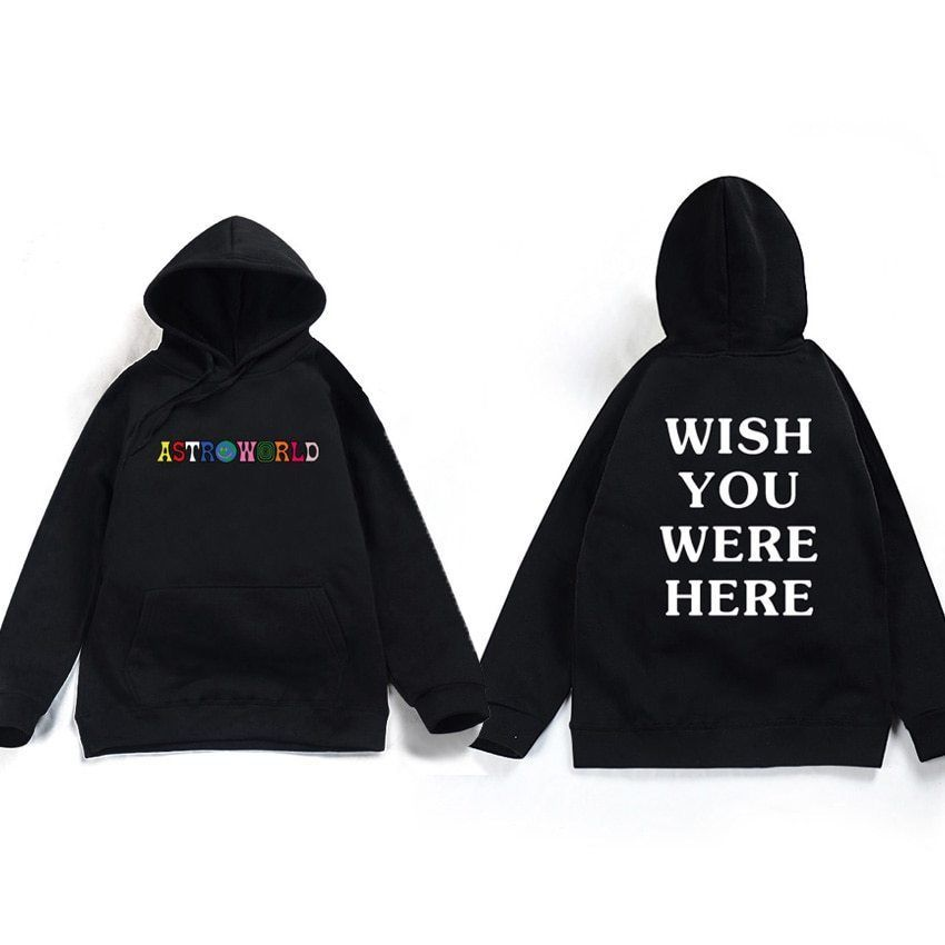 Travis Scott Astroworld Hoodie Sweatshirt 2018 Fashion Clothing