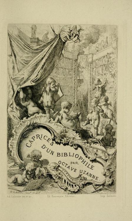 Octave Uzanne, Caprices d'un bibliophile (1878)