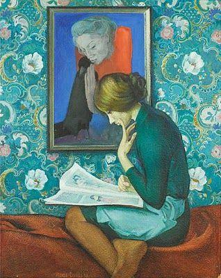 """A Student of Art History,"" Ivan Stepanovich Ivanov-Sakachev (1926-1980)"