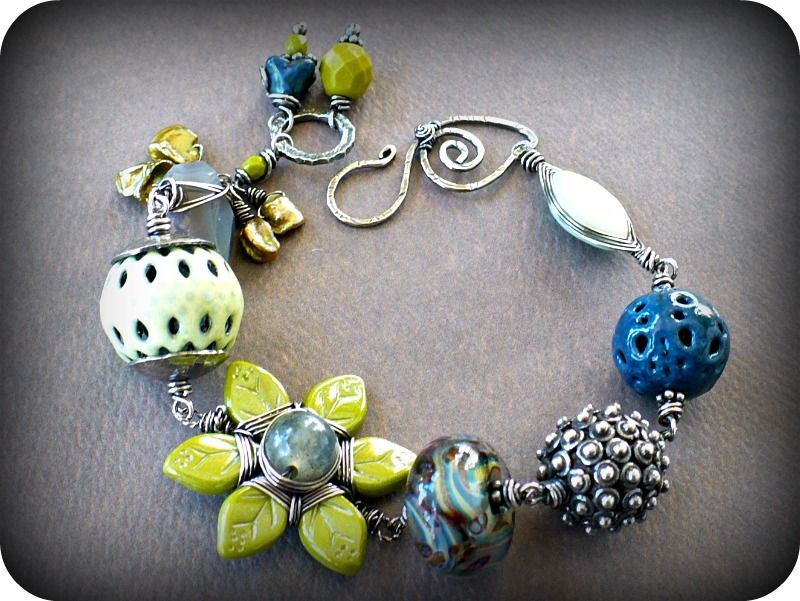 Melismatic Art Jewelry: Challenge of Color Blog Hop...Fruit Star