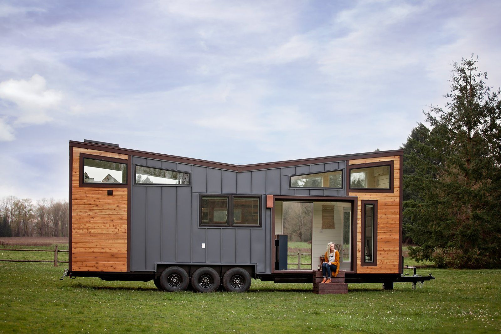 This Oregon Company Crafts Exceptional Tiny Homes Starting At 40k Tiny Mobile House Tiny House Design Exterior Siding Options
