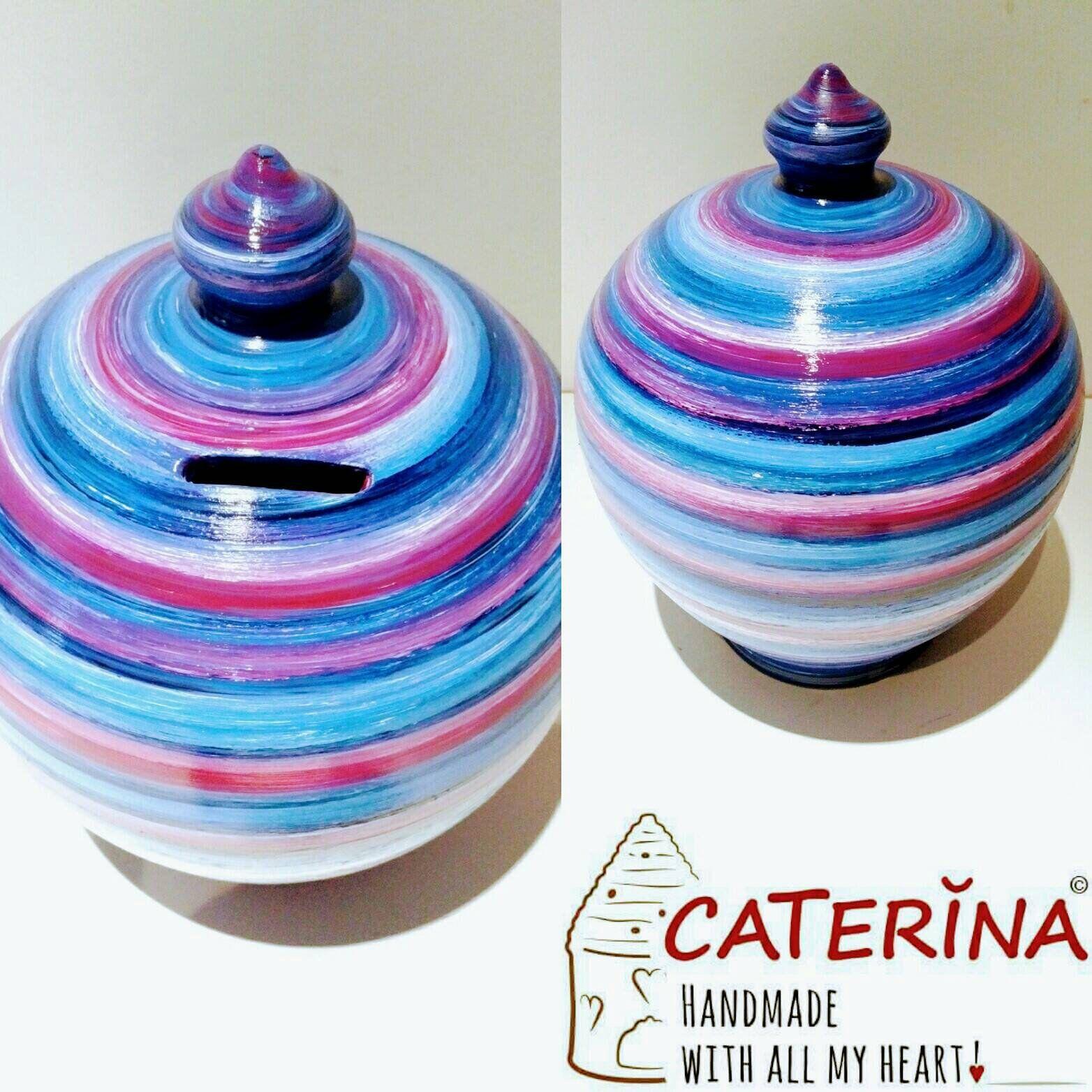 ceramic coin jar