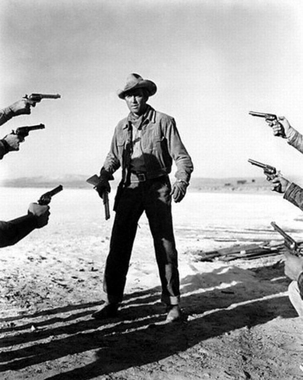 "Jimmy Stewart in ""The Man from Laramie"" - Anthony Mann (1955)"