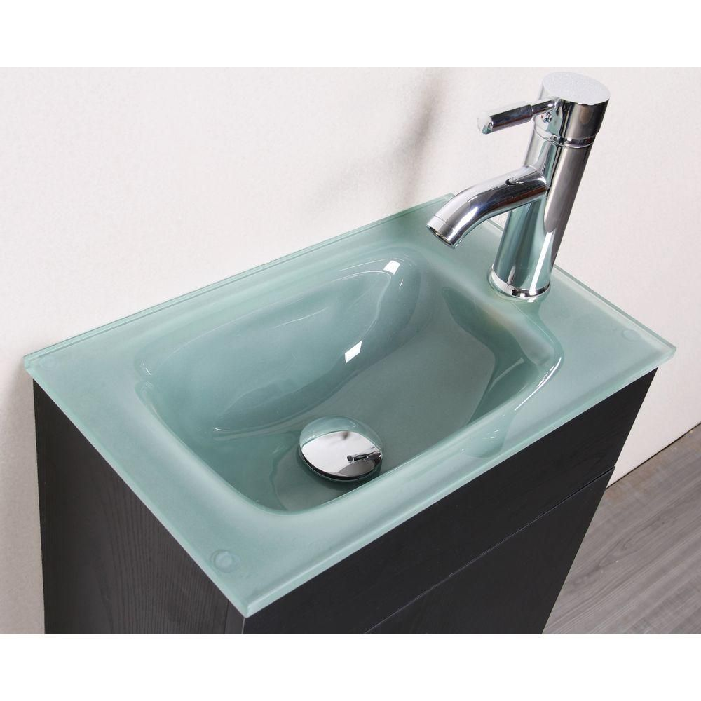 Sheffield Home Sheffield 16.5 in. W x 10 in. D Floating Vanity in ...