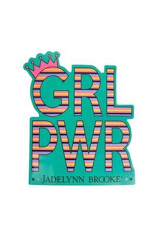 Sticker - GRL PWR