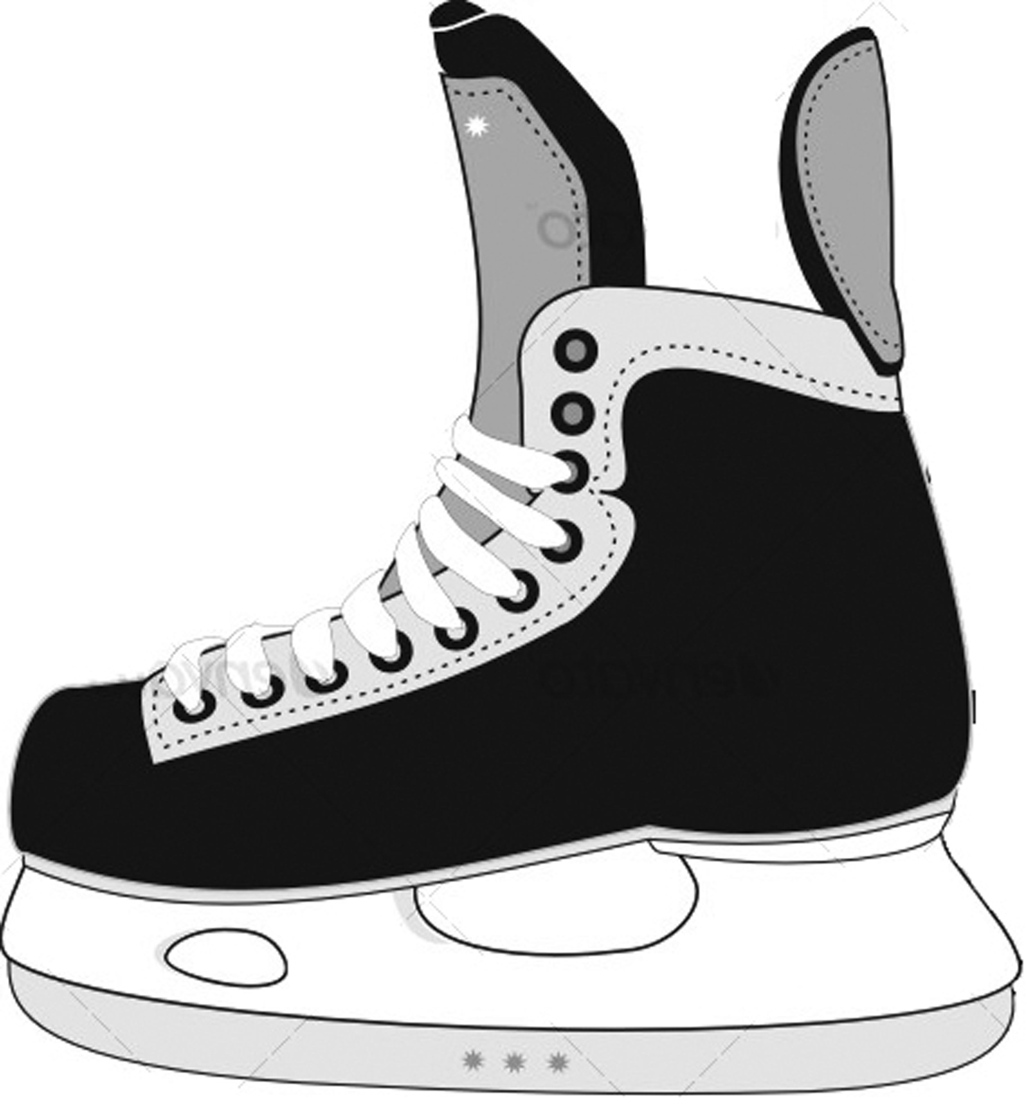 Displaying 20 Images For Cartoon Hockey Skates Hockey Tournaments Boys Hockey Hockey Crafts