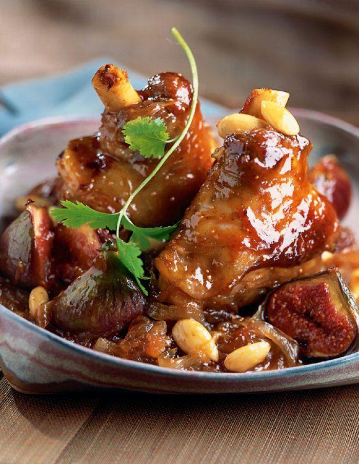 Souris D'agneau Cocotte Minute : souris, d'agneau, cocotte, minute, Souris, D'agneau, Confite, Figues, Amandes, Recette, Cuisine, Recette,
